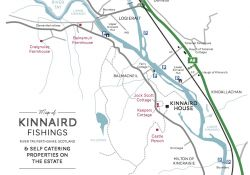 Kinnaird Estate Fishing Map